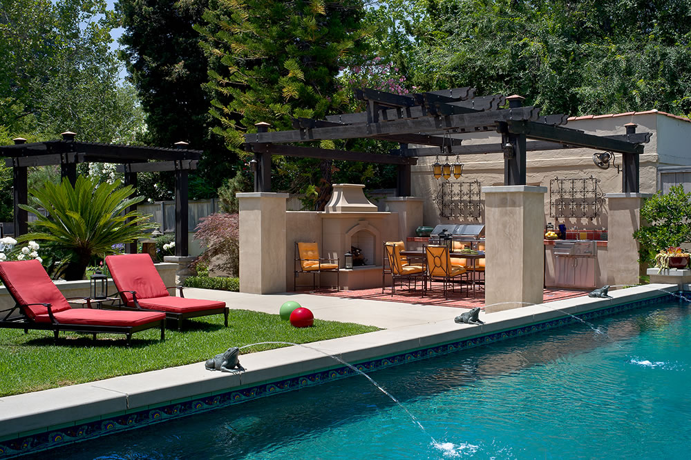 Outdoor Living Design By Huntington Pools Inc Southern