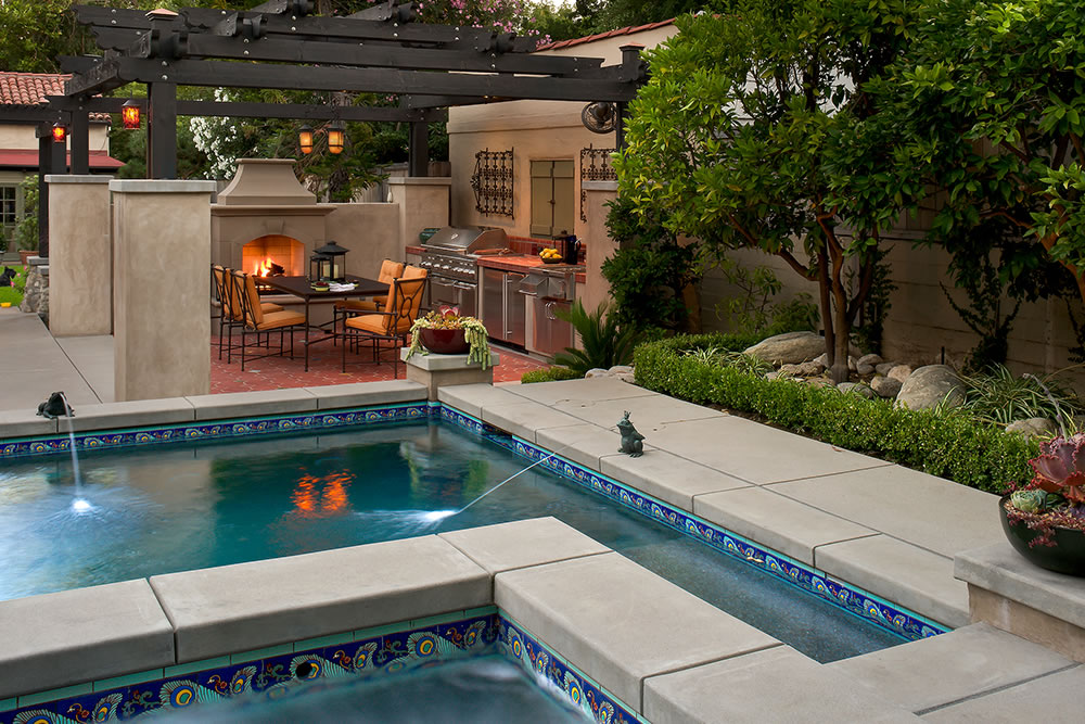 pasadena outdoor living designer gallery by huntington pools inc