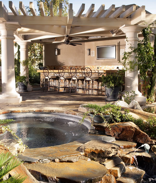 outdoor living services provided by southern california