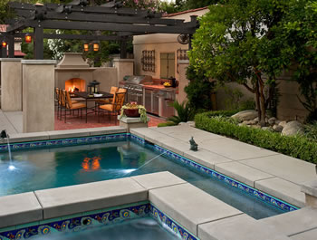 Outdoor living services provided by southern california for Pool design los angeles ca